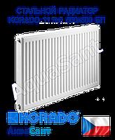 Стальной радиатор Korado 11k 500x500 боковое подключение