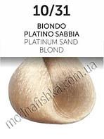 Стойкая крем-краска Oyster Perlacolor 10/31, Песочный, платиновый блонд 100мл