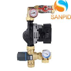 Насосно-смесительный узел для теплого водяного пола Afriso 9050100