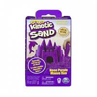 Песок для детского творчества - KINETIC SAND NEON фиолетовый, 227г