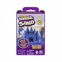 Песок для детского творчества - KINETIC SAND NEON голубой, 227г