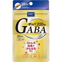 DHC Gaba Габа (гамма-аминомасляная кислота), 200 мг, 20 таблеток на 20 дней