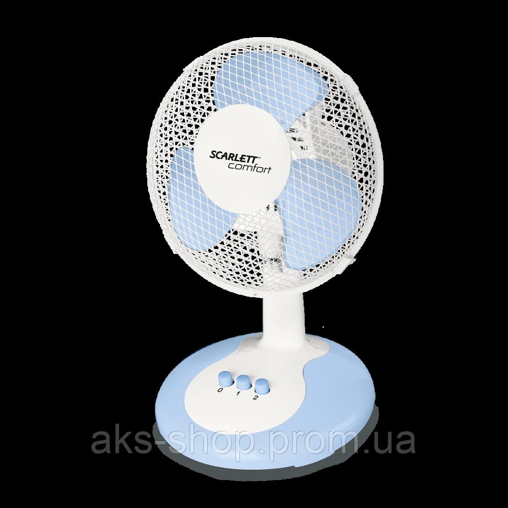 Настольный вентилятор Scarlett SC-DF111S06 30Вт белый