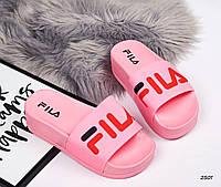 Шлепки женские Цвет розовый , фото 1