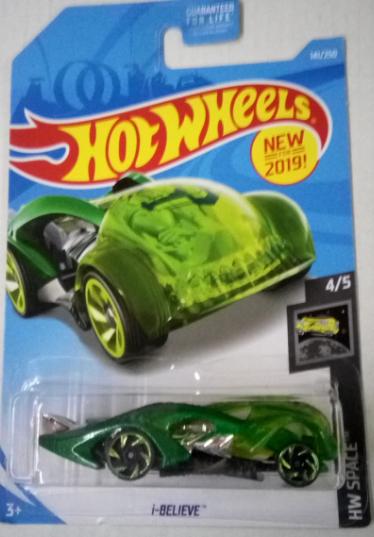 Машинка Hot Wheels 2019 i-Believe