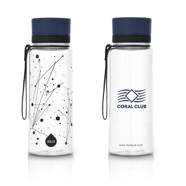 EQUA пластиковая бутылка Коралловый Клуб «Вселенная» 600ml