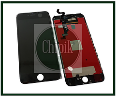 Дисплей для Apple iPhone 6S Plus з сенсорним екраном, Чорний