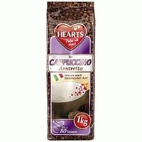 Капучино со вкусом амаретто Hearts Cappuccino Amaretto 1кг.