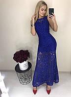 Красивое гипюровое платье, фото 1