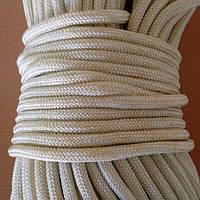 Шнур (фал) полиамидный (капроновый) плетеный с сердечником 5мм, фото 1