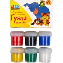 Краска Гуашь ГАММА Любимые игрушки 221031 на 6цв. 10мл. (1/24)