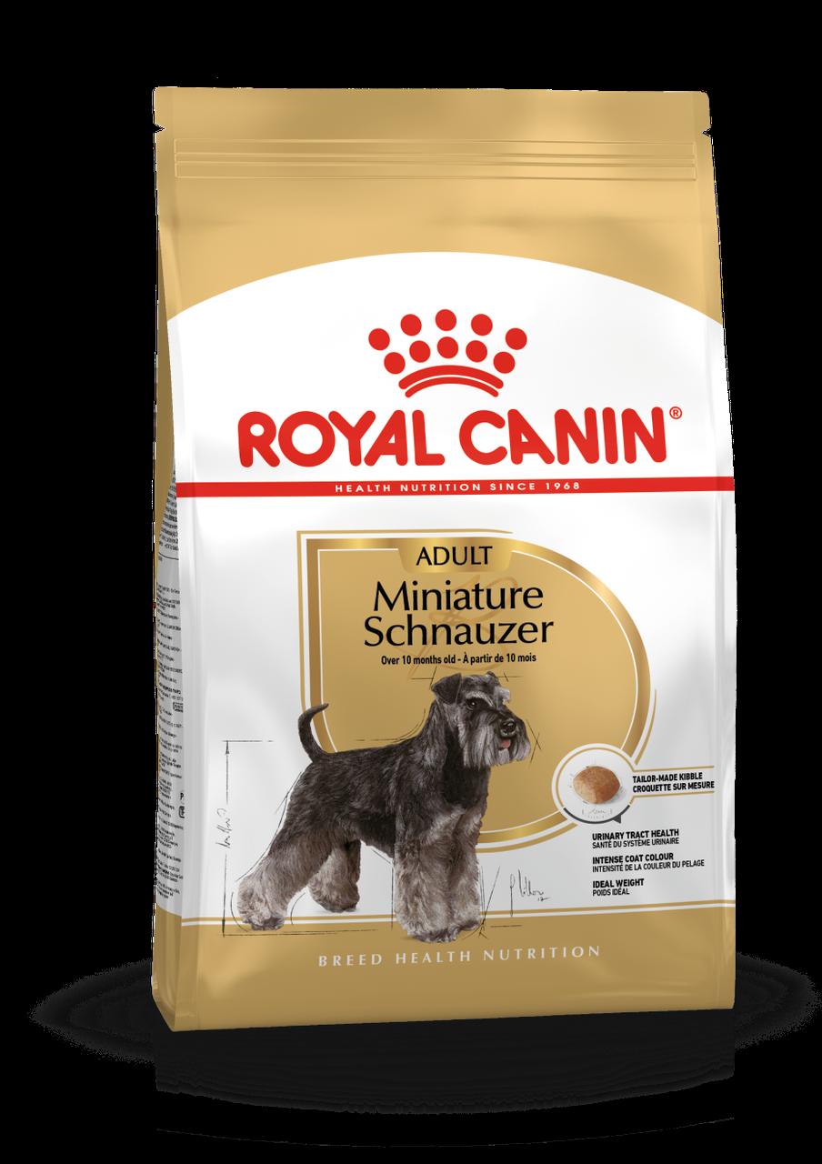 Royal Canin (Роял Канин) Schnauzer корм для собак породы цвергшнауцер, 7.5 кг