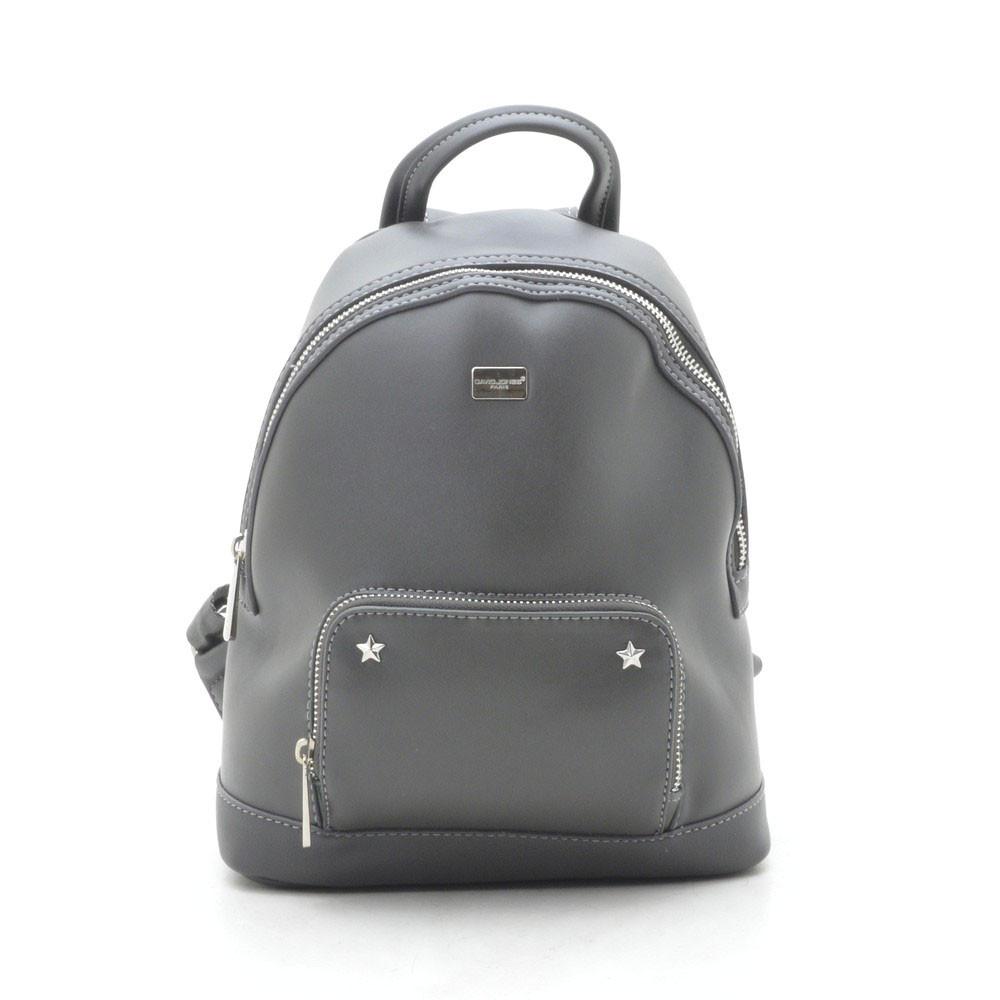 Рюкзак женский David Jones серый 180447