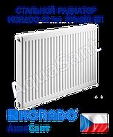 Стальной радиатор Korado 22k 300x900 боковое подключение