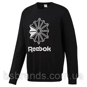 Мужской джемпер reebok AC FT BIG STARCREST CREW (АРТИКУЛ: DT8132)
