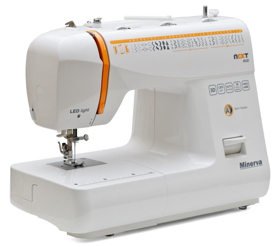 Электромеханическая бытовая швейная машина Minerva Next 363D