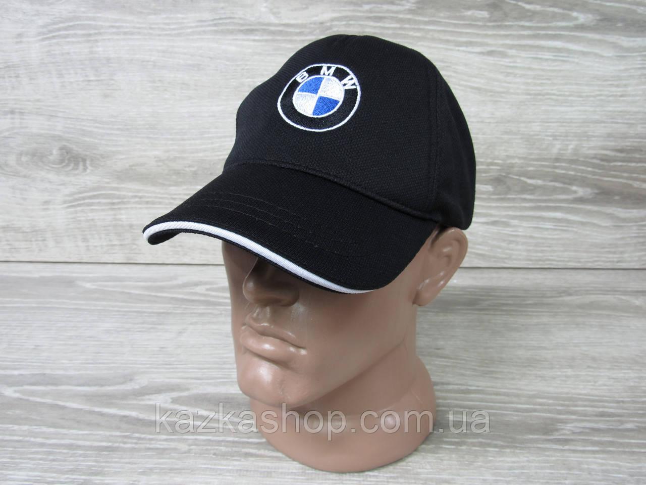 Мужская кепка, бейсболка, вышивка логотипа в стиле BMW (реплика), материал лакоста,  регулятор