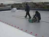 Устройство плоских крыш (ПВХ Мембрана)