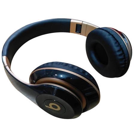 Беспроводные Bluetooth  наушники  STUDIO 3 (ЧЕРНЫЕ), фото 2