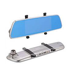 Видеорегистратор зеркало V200 + ПОДАРОК: Настенный Фонарик с регулятором BL-8772A, фото 2