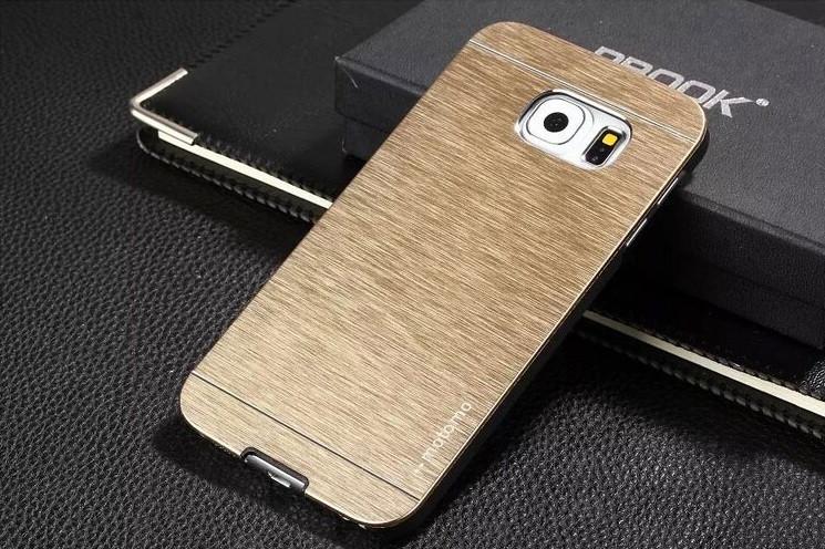 Чехол для Samsung S6 G920 motomo металлический