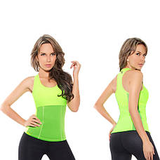 Женская майка для похудения NEOTEX HOT SHAPERS  (РАЗМЕР XL)  + ПОДАРОК: Настенный Фонарик с регулятором, фото 2