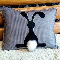 Подушка декоративная ручной работы 50 см, фото 1