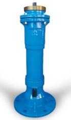 Гідрант METALPOL пожежний чавунний H - 1.00 м
