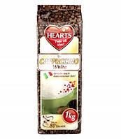 Капучино со вкусом молока Hearts Cappuccino White 1кг.