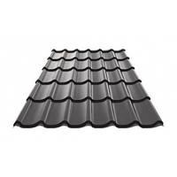 Металочерепиця Ruukki Monterrey Polyester rough matt 0,5 мм