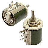 Резистори ППБ-25 змінні, дротові, регулювальні