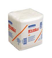 7471 Бумажный протирочный материал одноразового применения Wypall® L40, белый, сложенный вчетверо