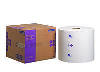 38664 Протирочный материал многоразового применения (Авиационный), белый, большой рулон