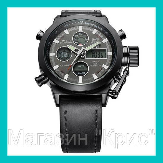 Ручные часы AMST II Watch (темно-серий ремешок)!Акция