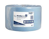 7425 Бумажный протирочный материал одноразового применения Wypall® L40, синий, большой рулон