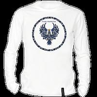 Футболка з гербом Івано-Франківська з довгим рукавом