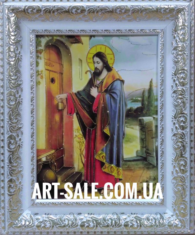 Икона  Исус стучащийся в дверь