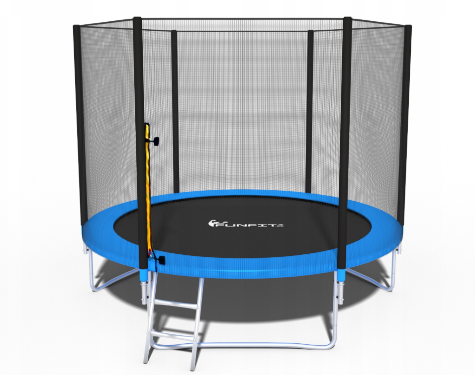 Батут Fun-Fit 8ft/252 см для всей семьи c лестницей