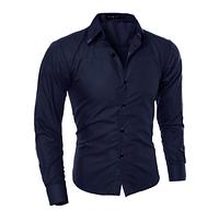 Мужская рубашка Slim Fit. Модель 720, фото 4
