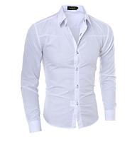 Мужская рубашка Slim Fit. Модель 720, фото 3
