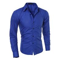 Мужская рубашка Slim Fit. Модель 720, фото 5