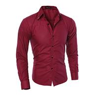 Мужская рубашка Slim Fit. Модель 720, фото 6