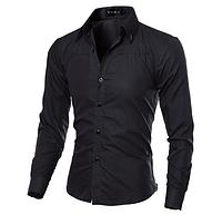 Мужская рубашка Slim Fit. Модель 720, фото 2