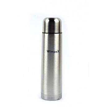 Термос помповый WimpeX 1000 мл с чехлом
