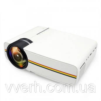 Портативный мультимедийный проектор с динамиком Led Projector UTM YG400 с динамиком +ПОДАРОК