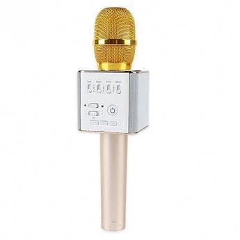 Портативный караоке микрофон UTM Q9 с 2 динамиками