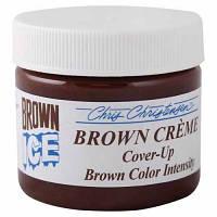 Chris Christensen Brown Ice Creme Коричневый маскирующий крем для шоу-подготовки собак 70 мл