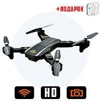 Квадрокоптер Phantom D5HW c WiFi и HD камерой, складной корпус, радиоуправляемый коптер (летающий дрон)