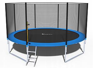 Батут Fun-Fit 14ft/435 см для всієї родини c сходами