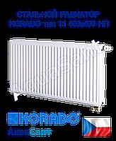 Стальной радиатор Korado 11vk 500x400 нижнее подключение